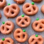 Halloween Chocolate Covered Pretzels {gluten free}