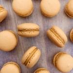 Salted Caramel Macarons {gluten free}