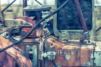 Los motores. Mi señora hablaba de que la pieza roja parecía una radio antigua.
