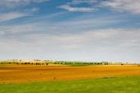 Luz en los campos de la Mancha