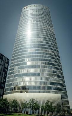 Edificios altos. Arquitectura moderna.