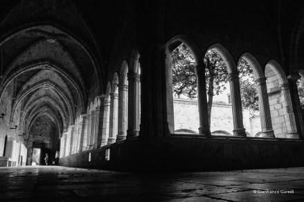Catedral, el claustro. Volví.