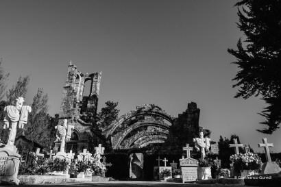 Cementerio de almas y de iglesias.