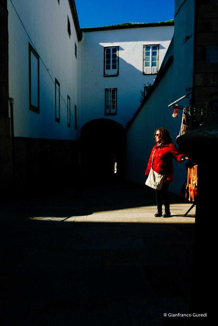 Rojo y luces