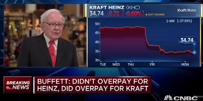 Buffett on Kraft-Heinz