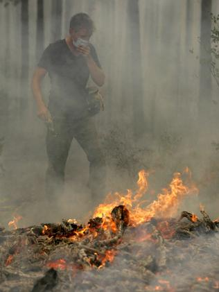 RUSSIA-HEATWAVE-FIRE