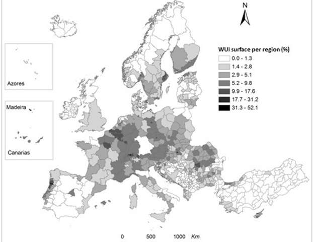 Wildfire map reveals countries in Europe most at risk of catastrophic fire damage