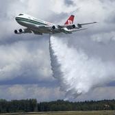 Der fliegende Supertanker soll künftig weltweit zum Einsatz kommen. Quelle: dpa