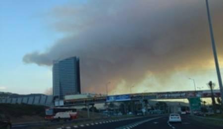 Fire in Carmel Mountains