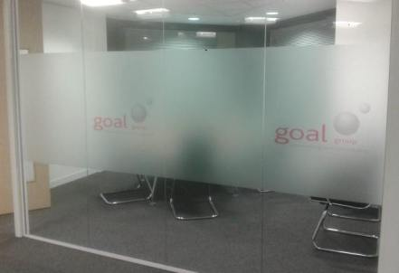 Printed Etched Glass Vinyl in South Windsor, CT