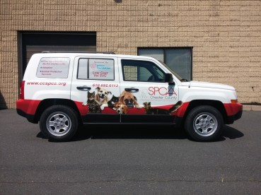 vehicle graphics in West Hartford CT