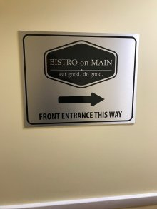 Interior Sign, South Windsor, CT