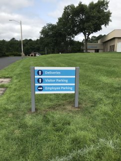 Post and Panel Sign in South Windsor, CT