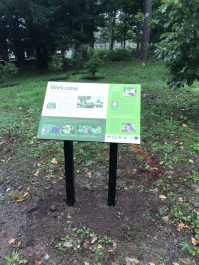 Interpretive Sign in Hartford CT
