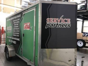 Commercial Vehicle Wrap in South Windsor, CT