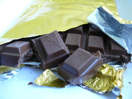 Chocolate - a close up picture