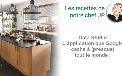 Data Studio L'application que Google cache à (presque) tout le monde