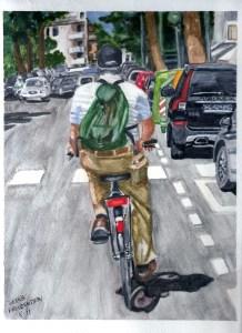 Cycling on Lido