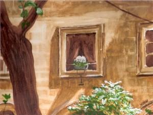 Sienna Windowsill