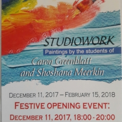 Studiowork-Paintings by the Students of Carol Greenblatt and Shoshana Meerkin