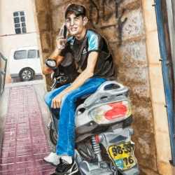 MAKING THE CALL (Mahane Yehuda)