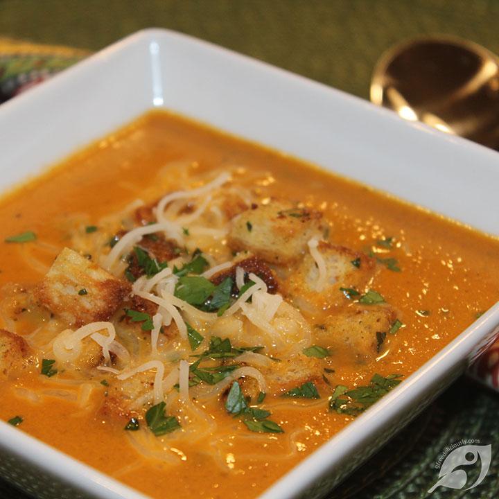 Gluten-Free Tomato Bisque Soup