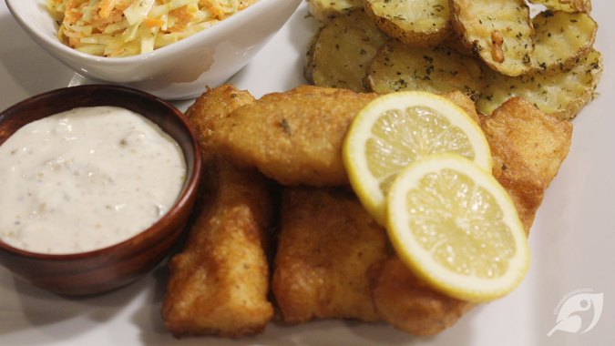 Crispy Gluten-Free Beer Batter Fish