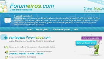 criar forum gratis
