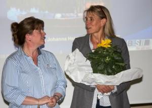 von l. Sibylle Meyer und Frau Dr. Gessler vom Tierärztlichen Institut Göttingen