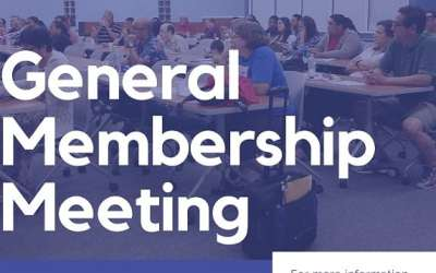 GENERAL MEMBERSHIP MEETING: MONDAY, FEBRUARY 10