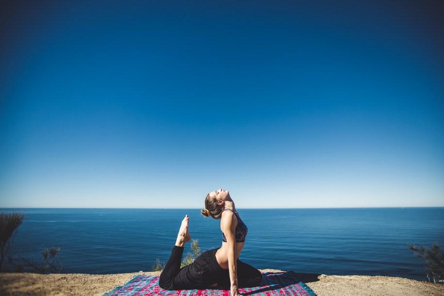 yoga al aire libre tenerife