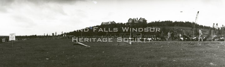Athletics on Log House Field. 1909-1910