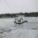 Car Ferry - Trans Canada Highway July 1956