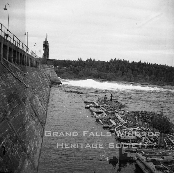 Woods - Exploit's Dam. September 1956