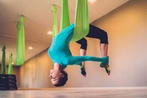 Swing Yoga Classes in Dubai