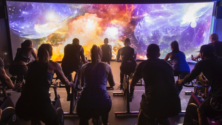 The Trip Immersive Indoor Cycling Class