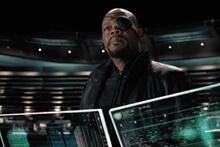 Nick Fury - Samuel L. Jackson - Avengers - film still