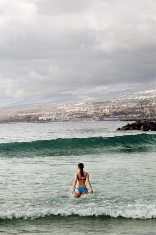 TENERIFE: Playa de las Americas-stranda. Foto: JOHN TERJE PEDERSEN/Dagbladet  Foto: John T. Pedersen/Dagbladet