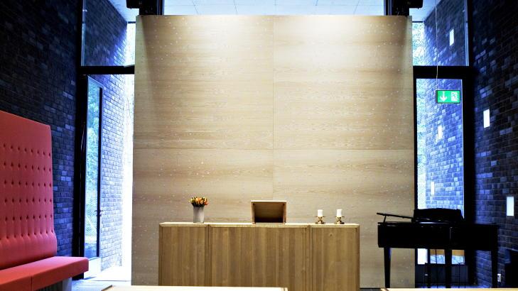 INTERIØR: Halden fengsel ble nominert til en prestisjetung arkitektpris i 2011.<br /><br /><br /><br /> Foto: Nina Hansen / Dagbladet