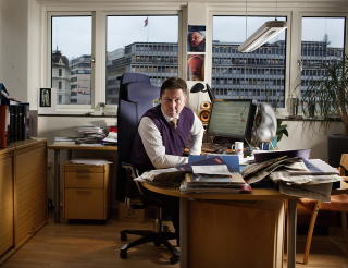Nettbråk:: Erik Nadheim.følte at han havnet midt i en konspirasjonsteori da han søkte jobben i Datatilsynet. - Men det varr ingen konspirasjon. Jeg var ikke lovet jobben, sier han. Foto: Agnete Brun / Dagbladet