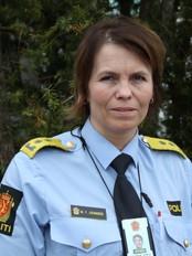 Marit Johansen, visepolitimester i Sør-Trøndelag (Foto: Hege Tøndel Jonli/NRK)