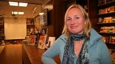 Anne Fløtaker, forlagssjef for norsk skjønnlitteratur i Cappelen Damm (Foto: Eirin Venås Sivertsen/NRK)