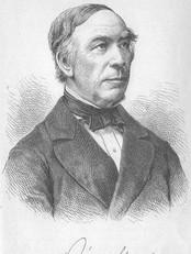 Biskop og eventyrsamler Jørgen Moe (1813-1882). (Foto: Wikimedia Commons)