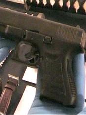 Pistol, spansk politi (Foto: Spansk politi/Reuters)