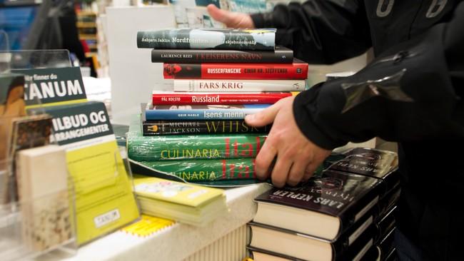 Bøker (Foto: Roald, Berit/SCANPIX)