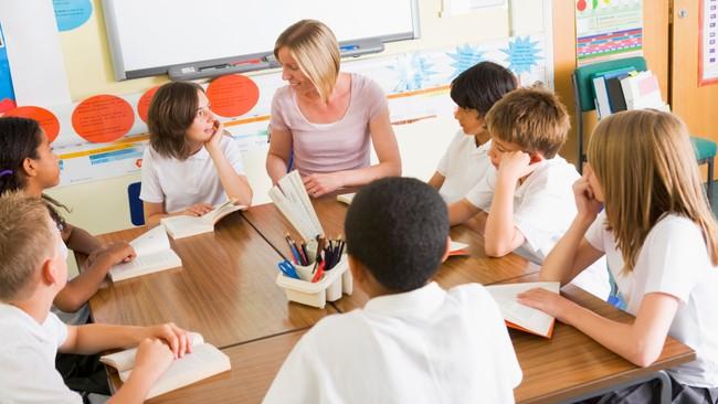 Klasserom, illustrasjonsbilde (Foto: http://www.colourbox.com/)