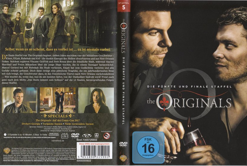 The Originals Staffel 5 Dvd Oder Blu Ray Leihen Videobuster De