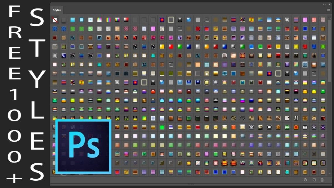 Download 1000 Photoshop Styles Pack Free Download For Designing ...