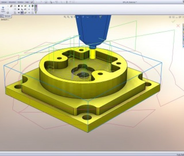 Delcam For Solidworks Xpress Is Free Cam Software For 2d Milling And Drilling Source