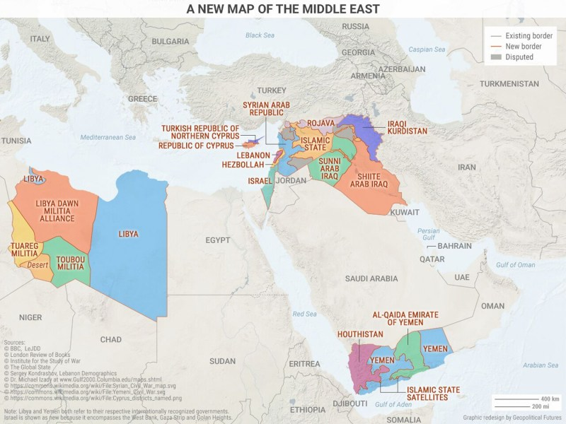Medieval Times in the Modern Middle East   This Week in Geopolitics     Click to enlarge